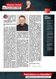 Hz+Nachrichten aus Düsseldorf August 2011 ... - Gatter, Stephan