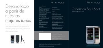 Orderman Sol Brochure