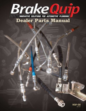 Dealer Parts Manual - BrakeQuip