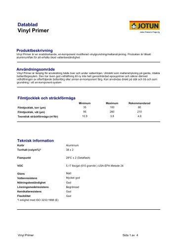 Vinyl Primer - Swedish - Lovelyhome.se