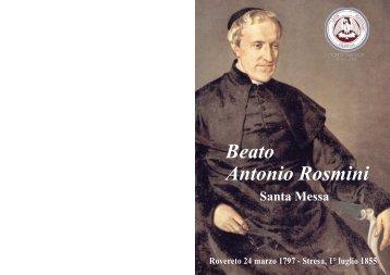 Beato Antonio Rosmini - Centro Internazionale di Studi Rosminiani