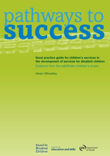 Pathways to Success - The Council for Disabled Children