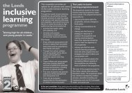 Leeds Inclusive Learning newsletter mono.indd - Leeds Parent ...