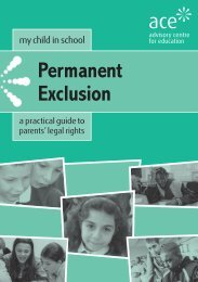 Permanent Exclusion - North Yorkshire County Council