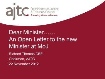 a single pdf - Administrative Justice & Tribunals Council
