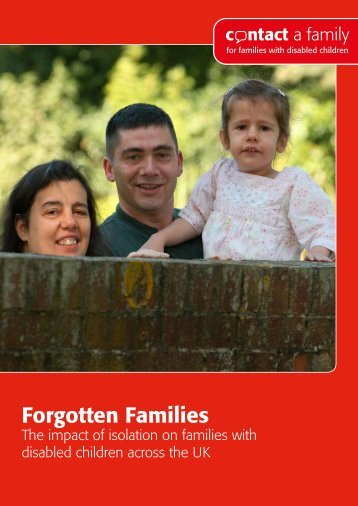 Forgotten Families 2011 - Contact a Family