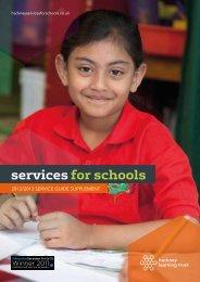 S4S Supplement Brochure 2012 - Services for Schools - Hackney ...