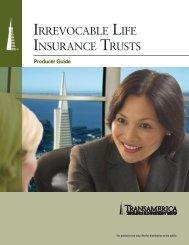 IRREVOCABLE LIFE INSURANCE TRUSTS - Transamerica