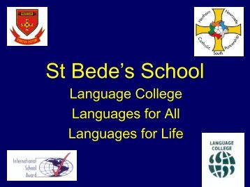 It'll Get You a Job - St. Bede's Catholic School & Sixth Form College