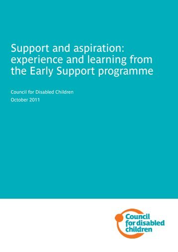 This report - The Council for Disabled Children
