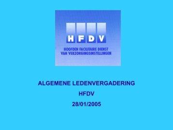 voorstelling programma 2005 - HFDV