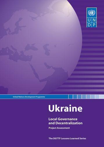 Ukraine - Governance Assessment Portal