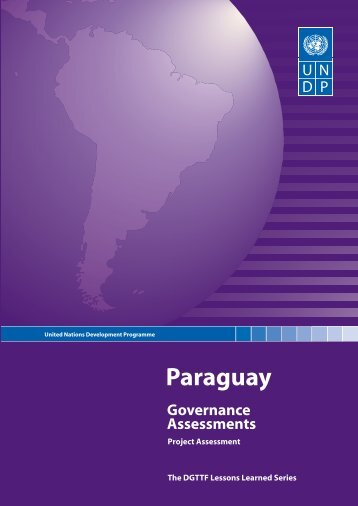 Paraguay: Governance Assessments - UNDP