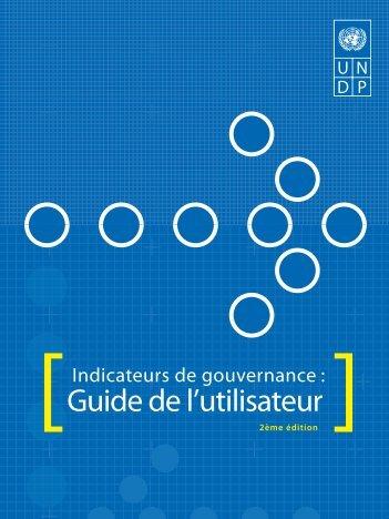 Guide de l'utilisateur - Governance Assessment Portal