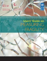 Users' Guide on Measuring Fragility - Governance Assessment Portal