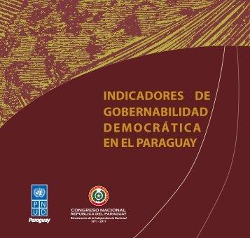 INDICADORES DE GObERNAbILIDAD DEmOCRátICA EN EL ...