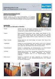 Pflegeanleitung für Chromstahlabdeckungen - ld küchen gmbh