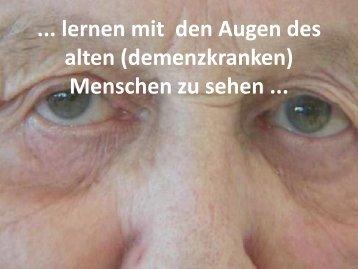 Wie beurteilen wir die Situation - Altersarbeit.ch