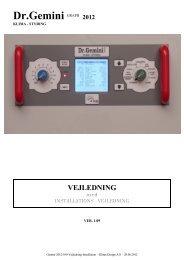 Vejledning og Installation ver.1.09 - Klima Design A/S