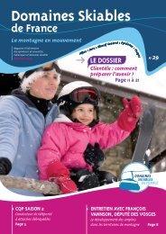 DSF n° 29 - Domaines Skiables de France