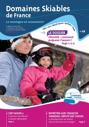 DSF n° 29 - Domaines Skiables de France