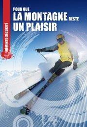 Mémento Sécurité - Domaines Skiables de France