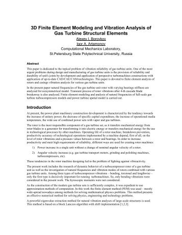 Finite Element Vibration Analysis of Damped Structures