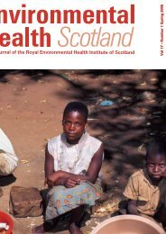 Download REHIS Journal 17/1 (Spring 2005) - The Royal ...