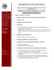 PEABODY CITY COUNCIL - Peabody-ma.gov