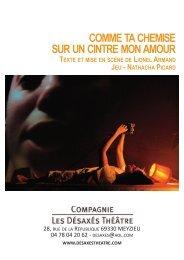 Télécharger le dossier complet en PDF - Compagnie Les désaxés ...