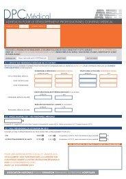 Formulaire d'adhésion - Anfh