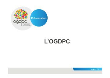 Présentation OGDPC - ANFH