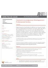 CONSTRUIRE UN PROGRAMME DPC - Anfh