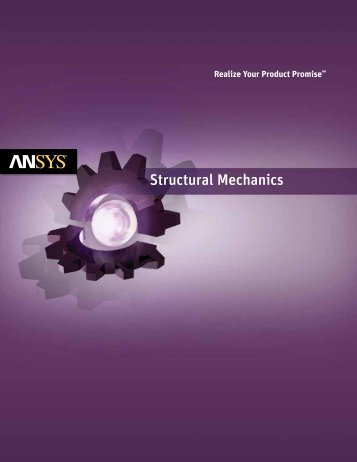 ANSYS Structural Mechanics Solutions Brochure