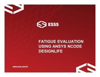 ansys ncode designlife tutorials pdf