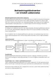 Faglig Udvalgs informationsmateriale om ... - Industriens Uddannelser