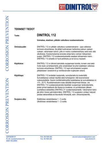 dinitrol 112