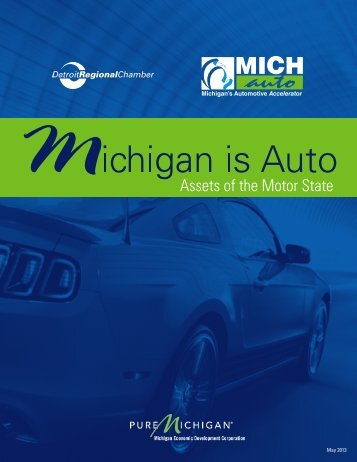 Michigan is Auto Report - Detroit Regional Chamber