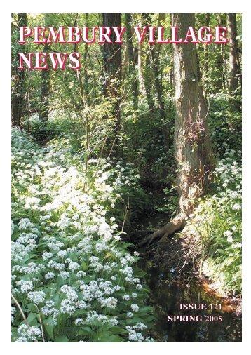 Issue 121 - the Pembury Village Website