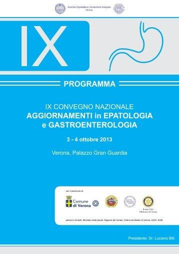 Programma.pdf - Azienda Ospedaliera Universitaria Integrata Verona