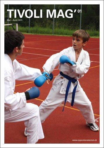 Tivoli Mag – mai-août 2011 - Ippon Karate Club Tivoli