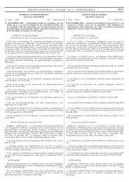 BELGISCH STAATSBLAD — 05.12.2008 − Ed. 3 — MONITEUR ...