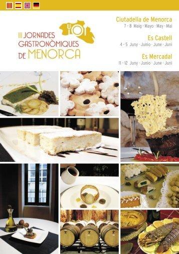 III Jornades Gastro - GastronomiaMenorca