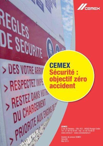Dossier de presse CEMEX - Sécurité