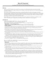 Resume 1 - ITQ