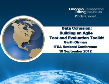 Data Cohesion: Building an Agile Test and Evaluation Toolkit