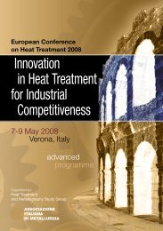 Innovation in Heat Treatment for Industrial Competitiveness - A3TS