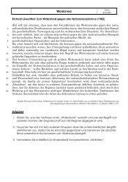 Zum Widerstand gegen den Nationalsozialismus ... - Ave-caesar.de