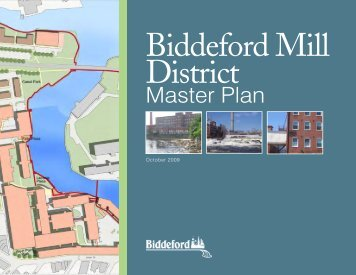 Master Plan - City of Biddeford