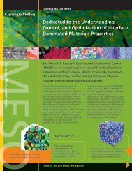 Dedicated to the Understanding, Control, and Optimization of ...